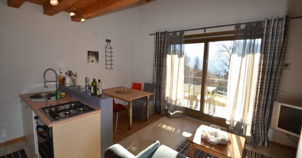 Küche/Essbereich Gästewohnung