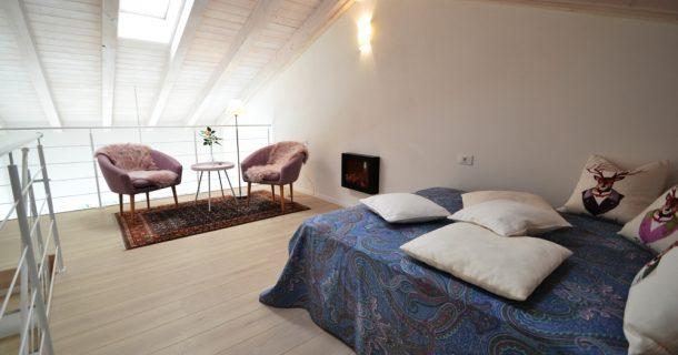 Galerie mit Wohnzimmer oder zusätzl. Schlafmöglichkeit