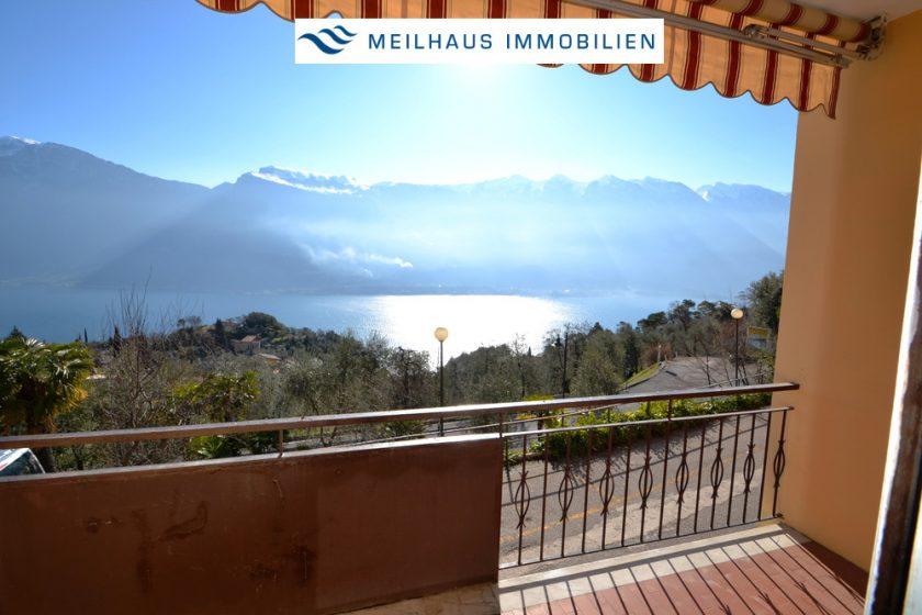 Balkon mit Panorama-Ausblick